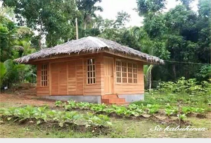 The Bahay Kubo Balay Or Nipa Hut Is A Type Of Stilt House