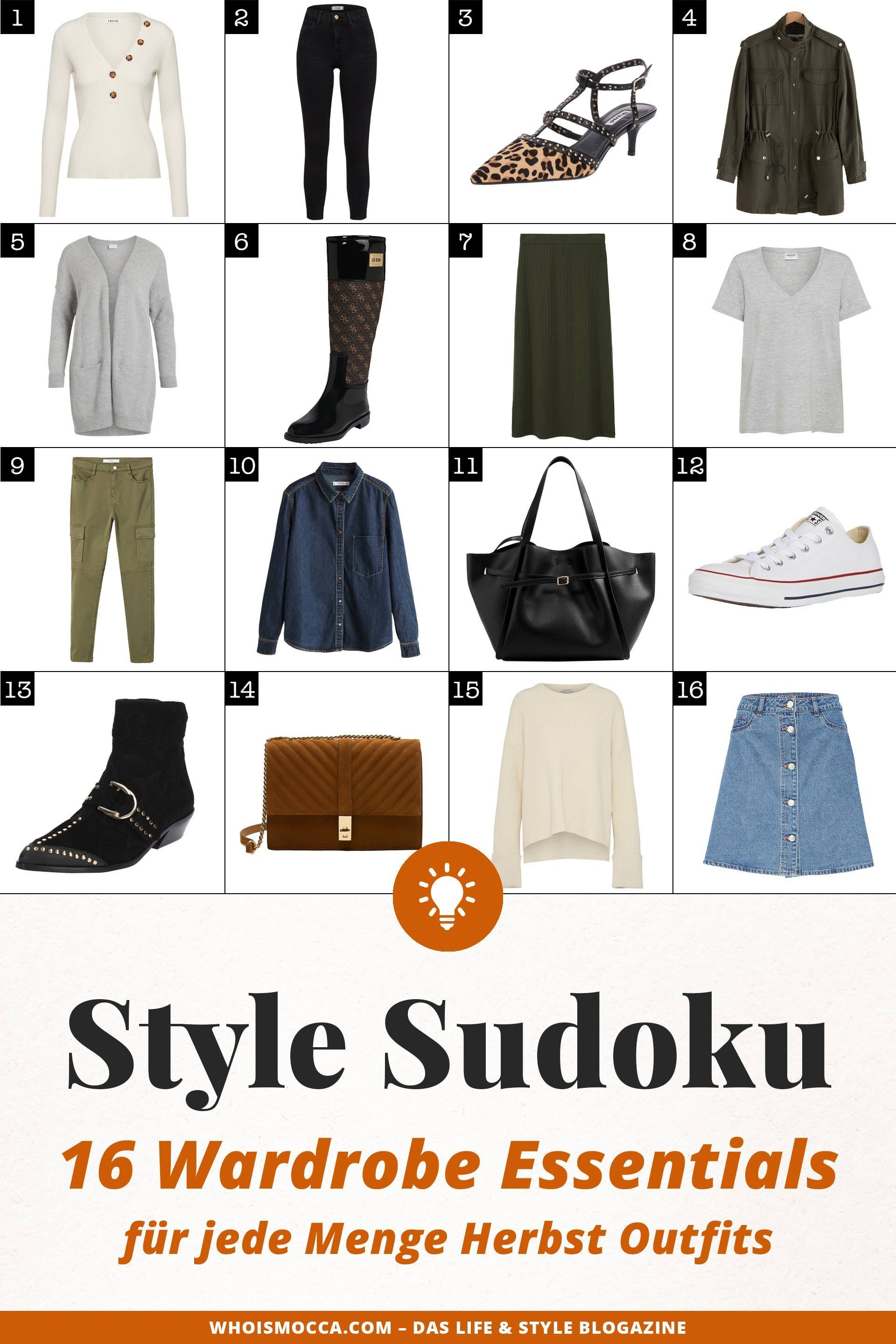 style sudoku jede menge herbst outfits mit 16 wardrobe. Black Bedroom Furniture Sets. Home Design Ideas