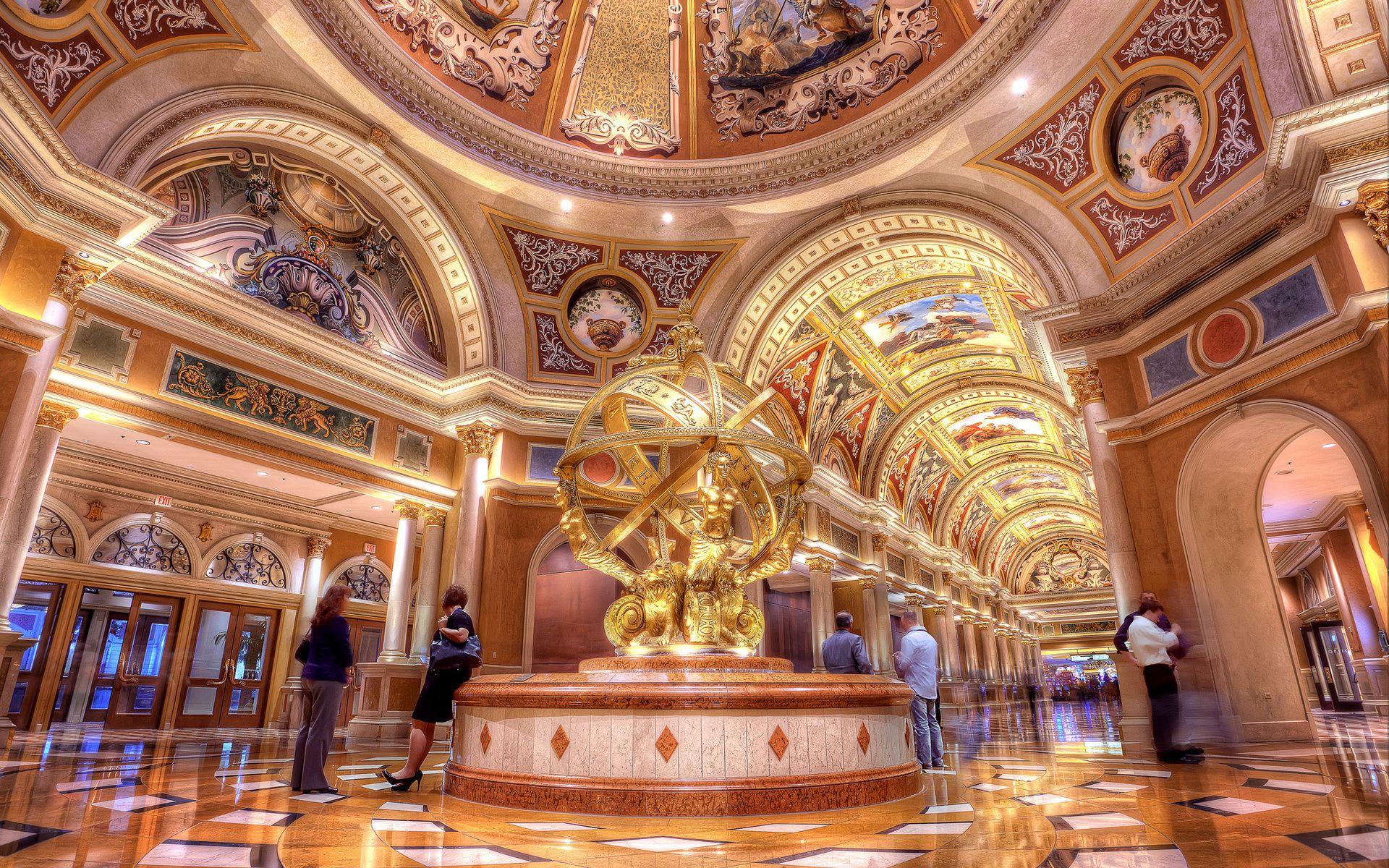 Lobby Of The Venetian Hotel Casino