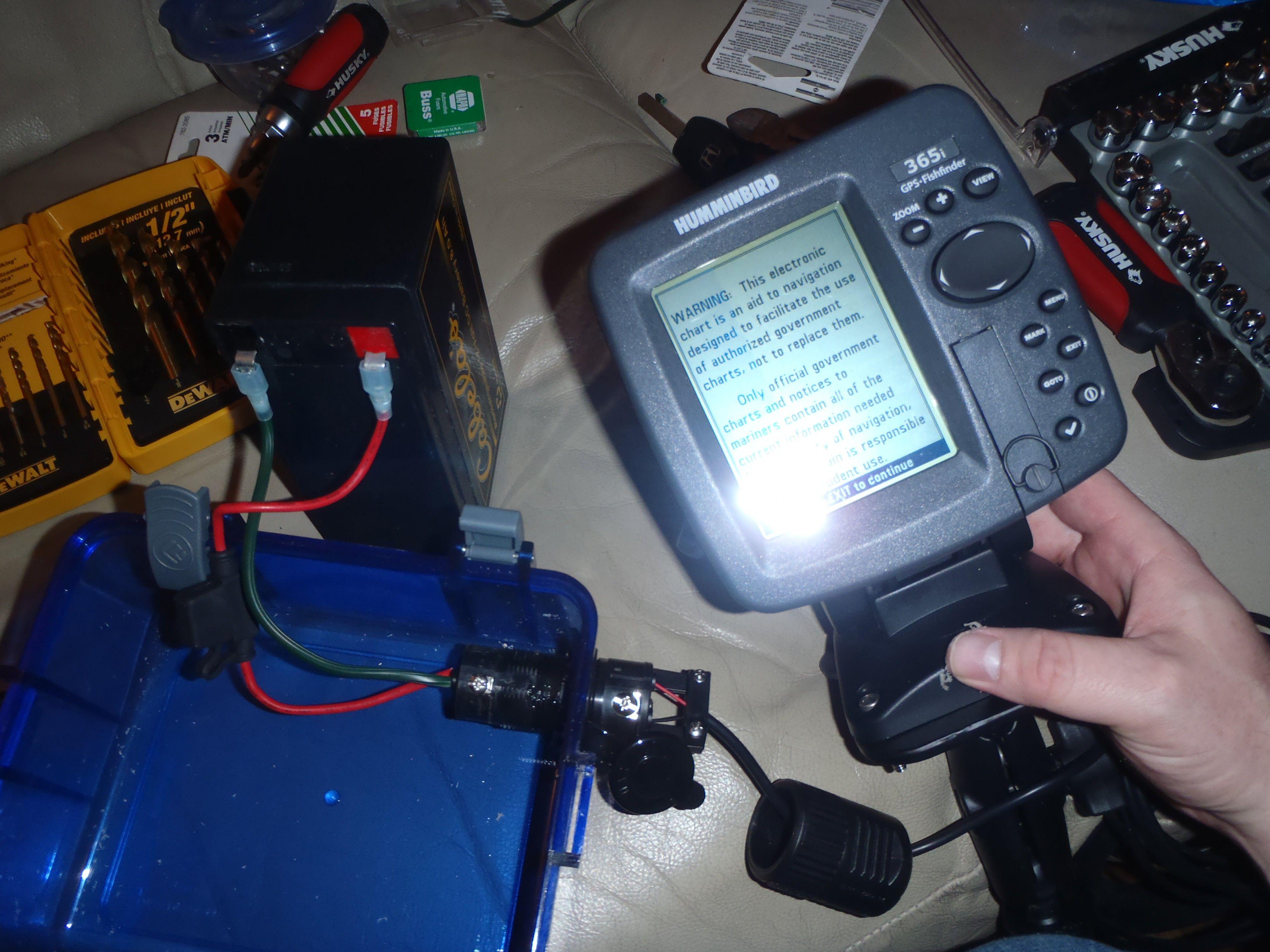 diy battery box kayaking kayak fish finder kayak fishing kayak wiring fishfinder to battery [ 4000 x 3000 Pixel ]