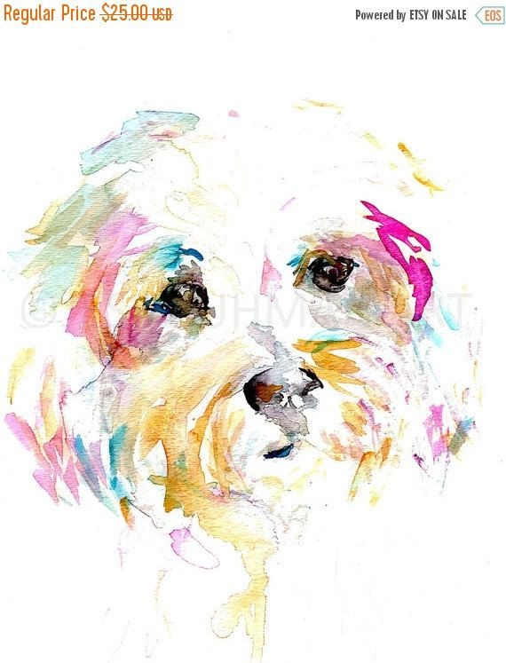 Hund Aquarell Druck Frau Sophie Von Jess Buhman Mehrere