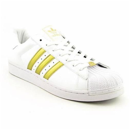 ADIDAS Superstar II Sneakers Shoes Gold Mens SZ