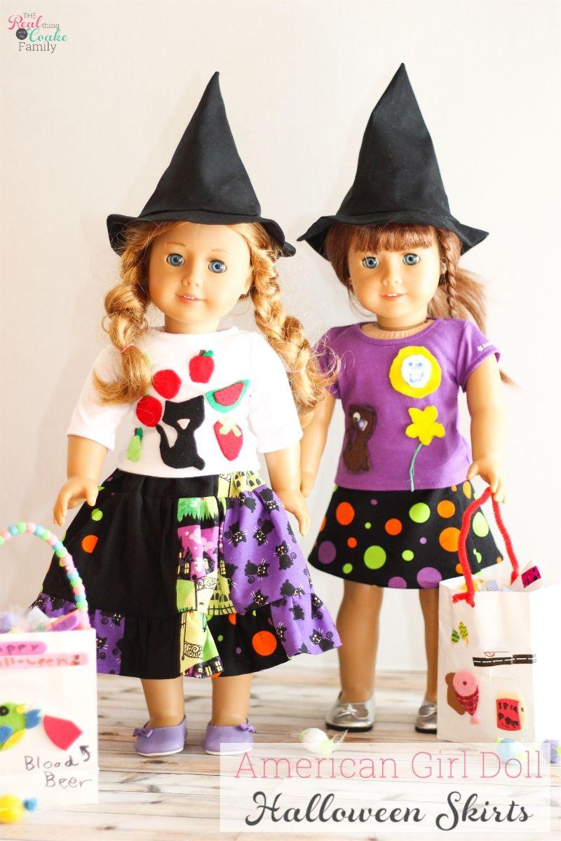 13 Great American Girl Doll Halloween Ideas and Crafts | Nähen