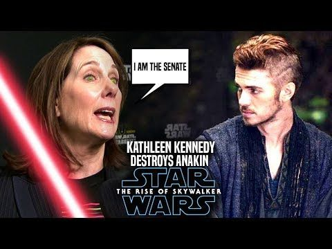 Kathleen Kennedy Destroys Anakin The Rise Of Skywalker Star Wars Episode 9 In 2020 Kathleen Kennedy Star Wars Episodes Kathleen