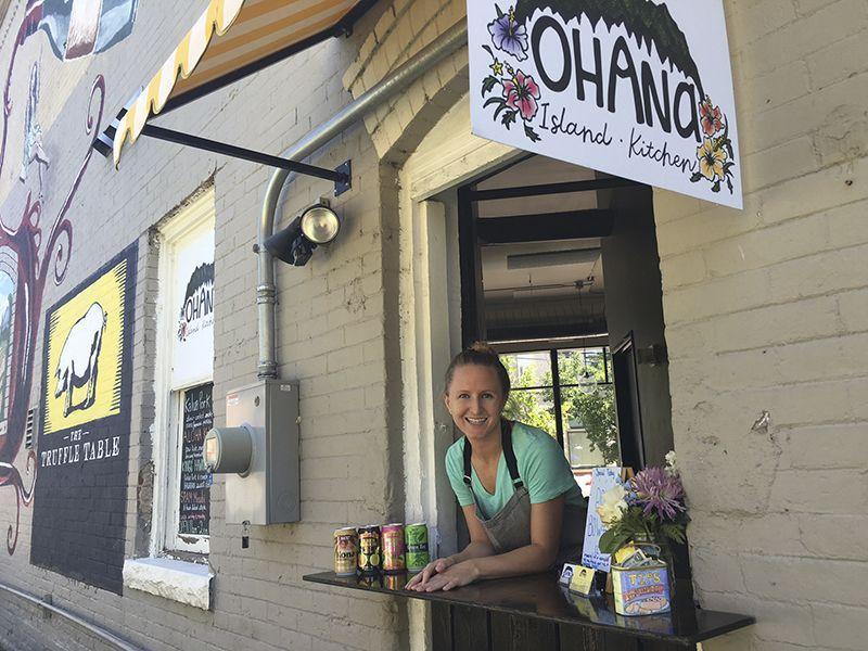 Bright And Fresh Hawaiian From Tiny Ohana Island Kitchen Places To - Ohana island kitchen