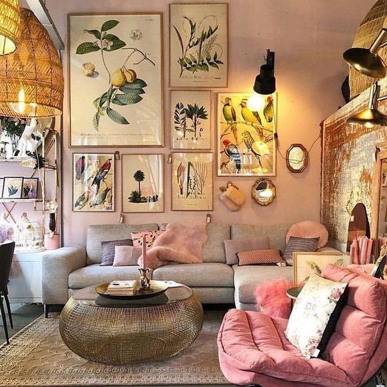 Photo of Pro Ideas for Bohemian Living Room | Hippie Boho Gypsy