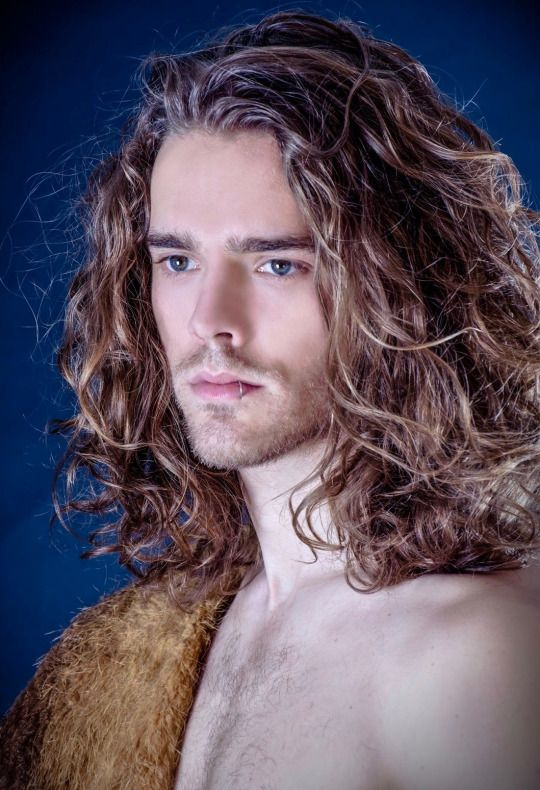 Gay long hair tube