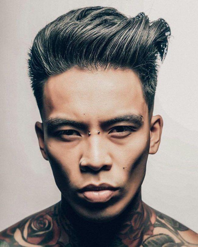 80 Best Quiff Hairstyles - (The Spirit of Rebellion in 2019)   Asian men hairstyle, Mens ...
