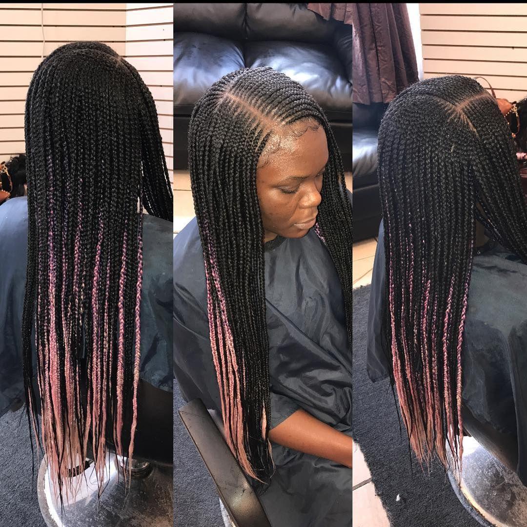 sidepart #hairbyqueenbee #beyoncébraids #braids