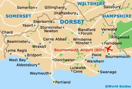 Dorset Map, South West England, UK | Travel: UK England SW in 2019 on