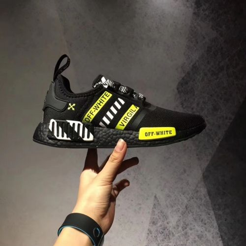 pretty nice b6b8b d671c Cheap Priced Off-White x Adidas NMD R1 Black Yellow EUR 40-45