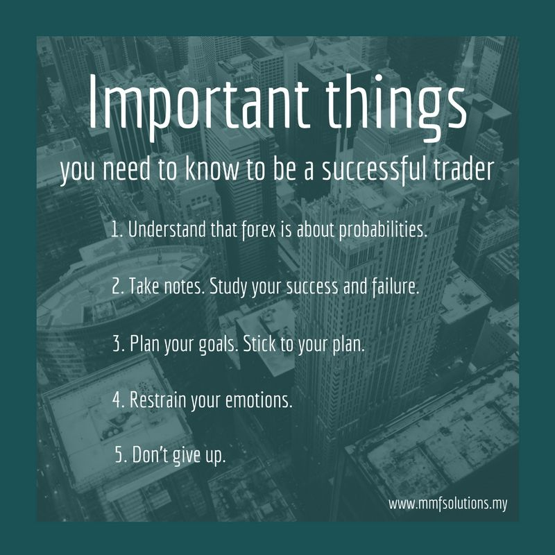 Important Things You Need To Know To Be A Successful Trader Www