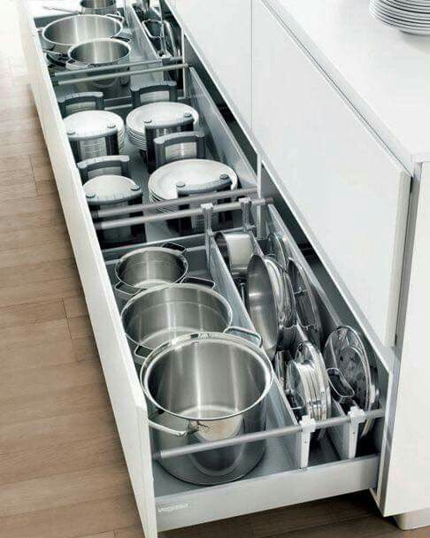 Pullout Kitchen Storage Ideas