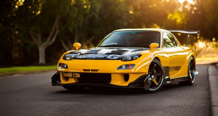 The Mazda FD RX-7