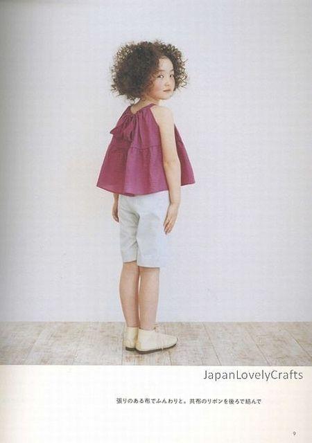 Kids Casual Clothes - Ruriko Yamada - Japanese Sewing Pattern Book ...