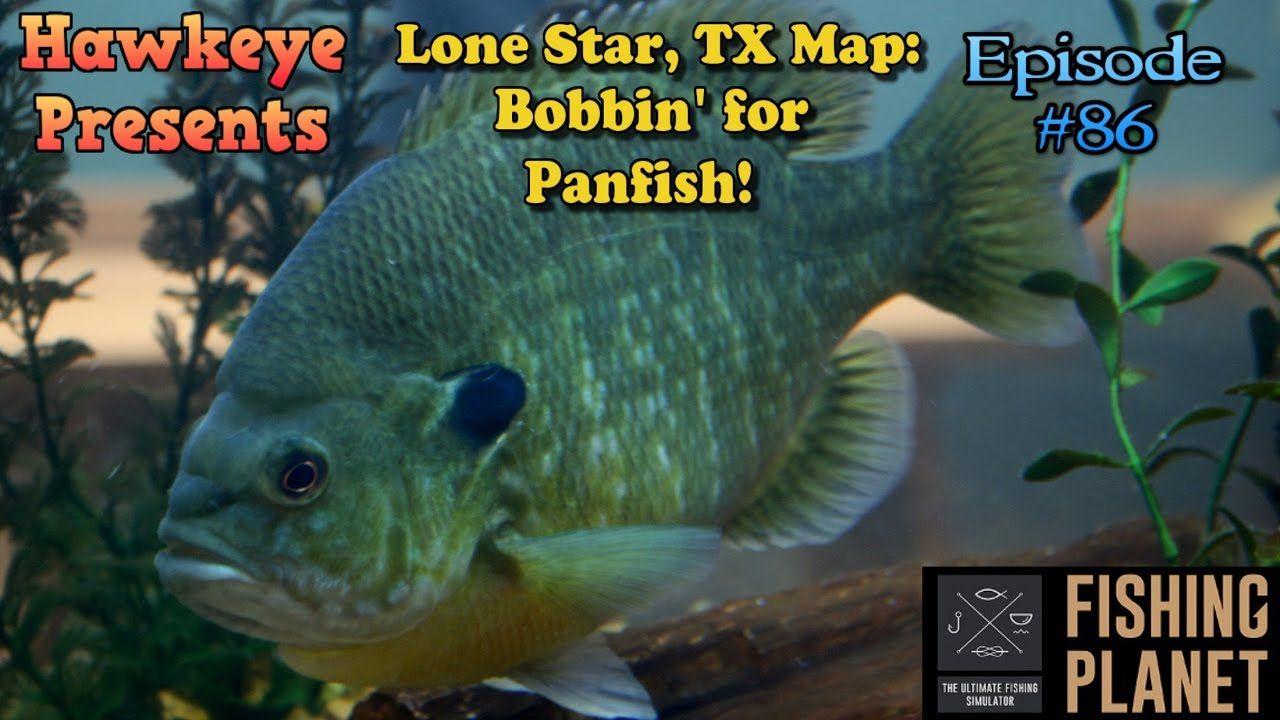 Fishing Ep. 86 Lone Star, Texas Map Bobbin
