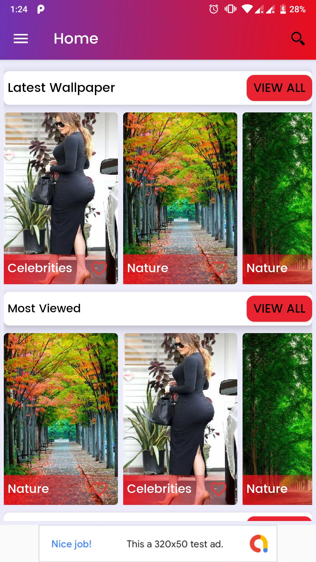 Universal Wallpaper Android app (HD, Full HD, 4K, Ultra