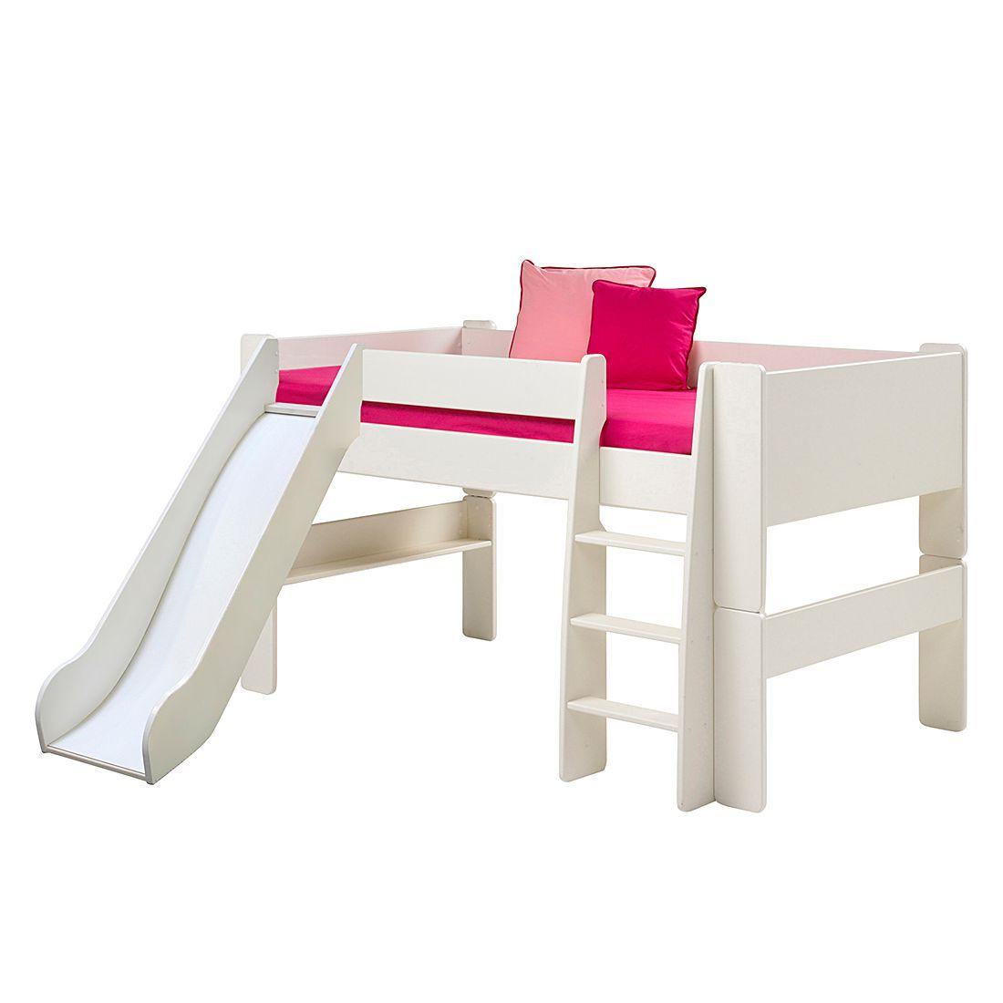 Steens Möbel halbhochbett steens for mit rutsche weiß steens jetzt