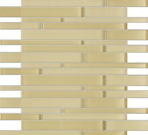 xen bermuda beige glass mosaic tiles for kitchen bathroom backsplash shower walls price is fliesen fr die kchekche - Stein Backsplash Ideen Fr Die Kche