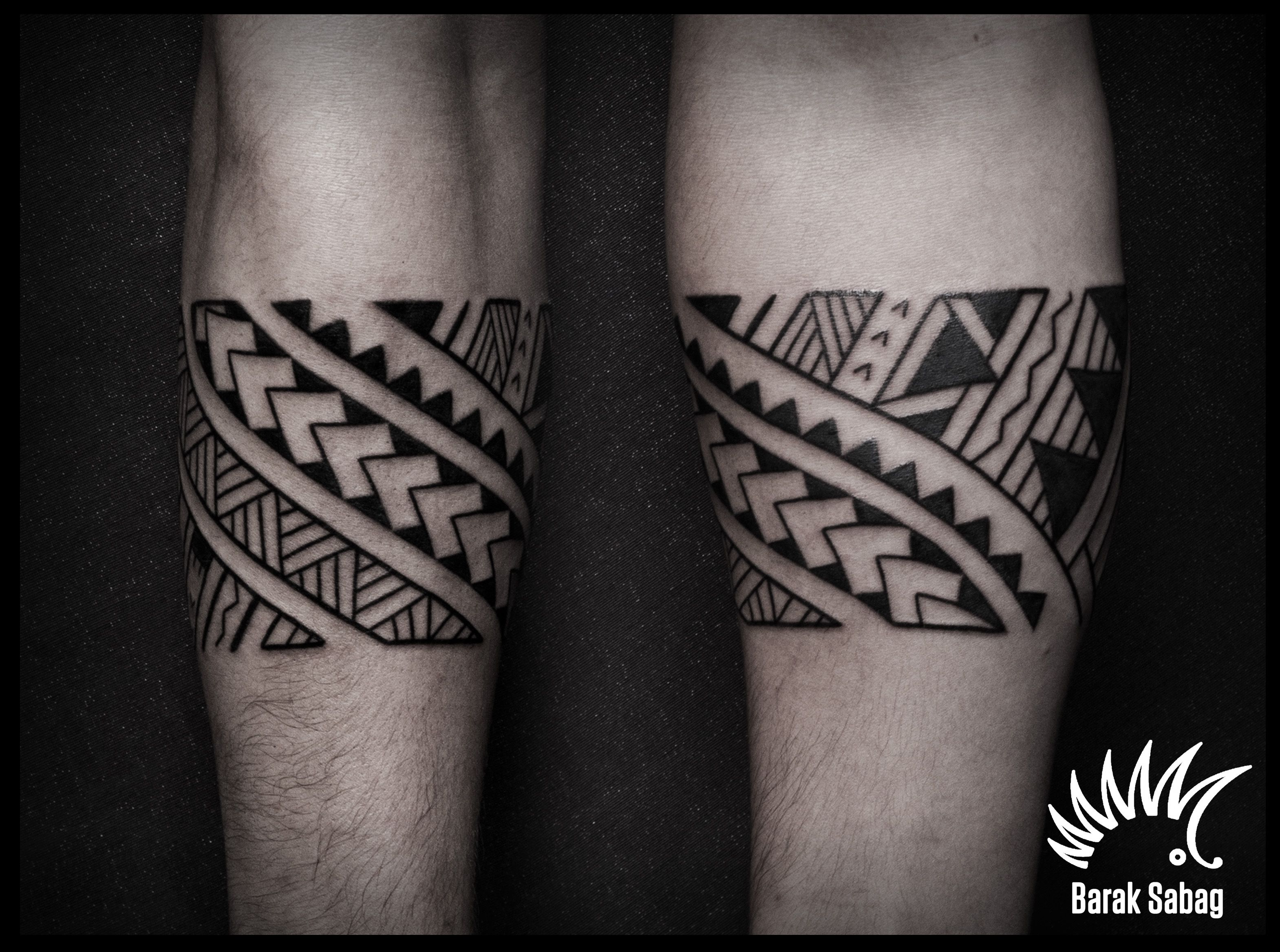 polynesian armband tattoo by barak sabag kipodd tattoos pinterest tattoos arm. Black Bedroom Furniture Sets. Home Design Ideas