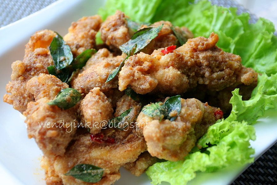 Table For 2 Or More Salted Egg Yolk Chicken With Images