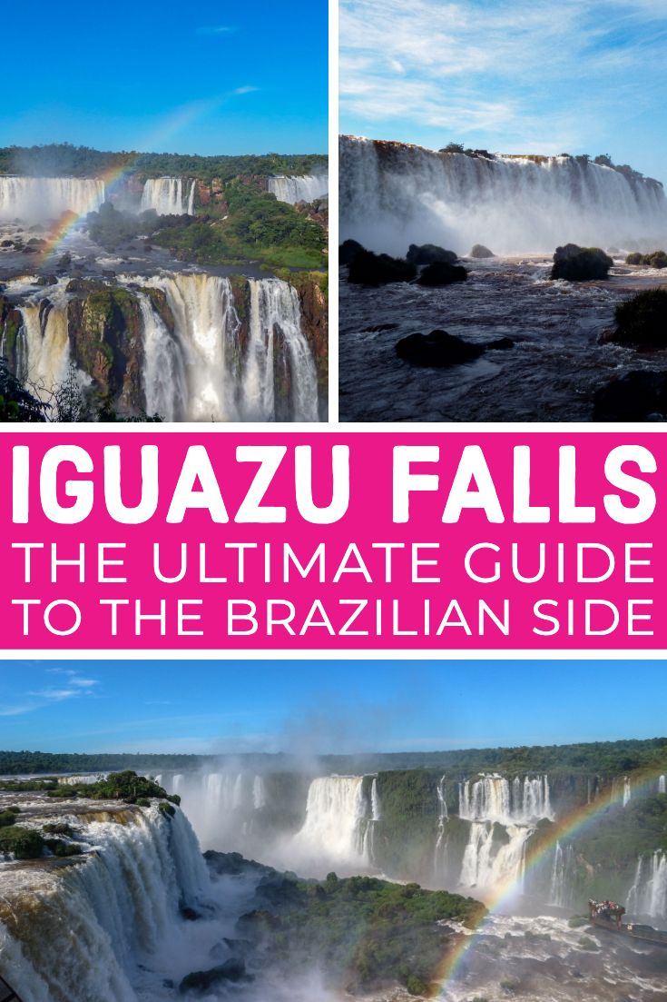 Ultimativer Führer zu den Iguazu-Wasserfällen in Brasilien   – ***Travel Blogger's Pins***