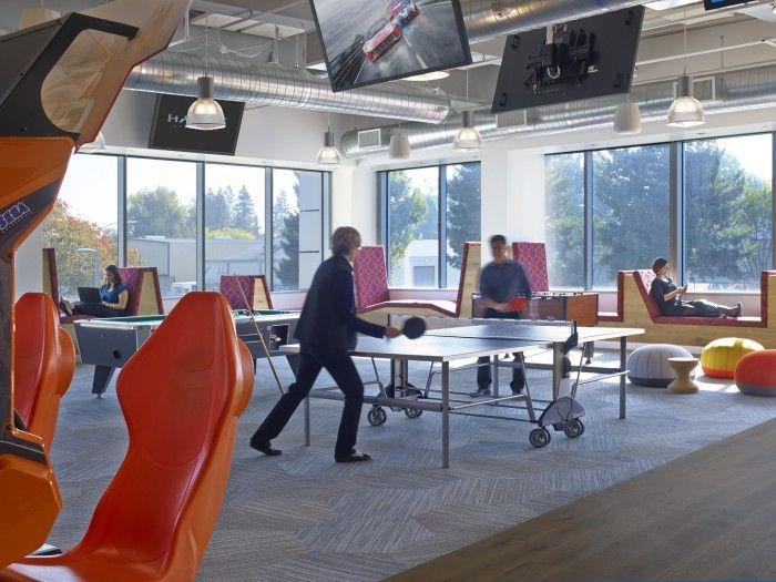 Linkedin Sunnyvale Office Design 5 Linear Shift Hexagon