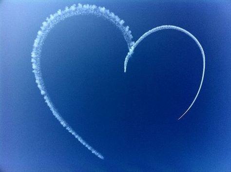 airplane heart