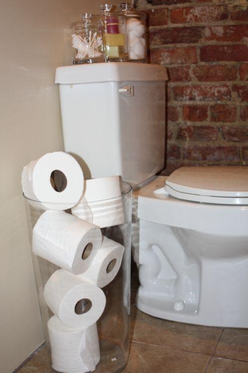 Decorative Toilet Paper Storage