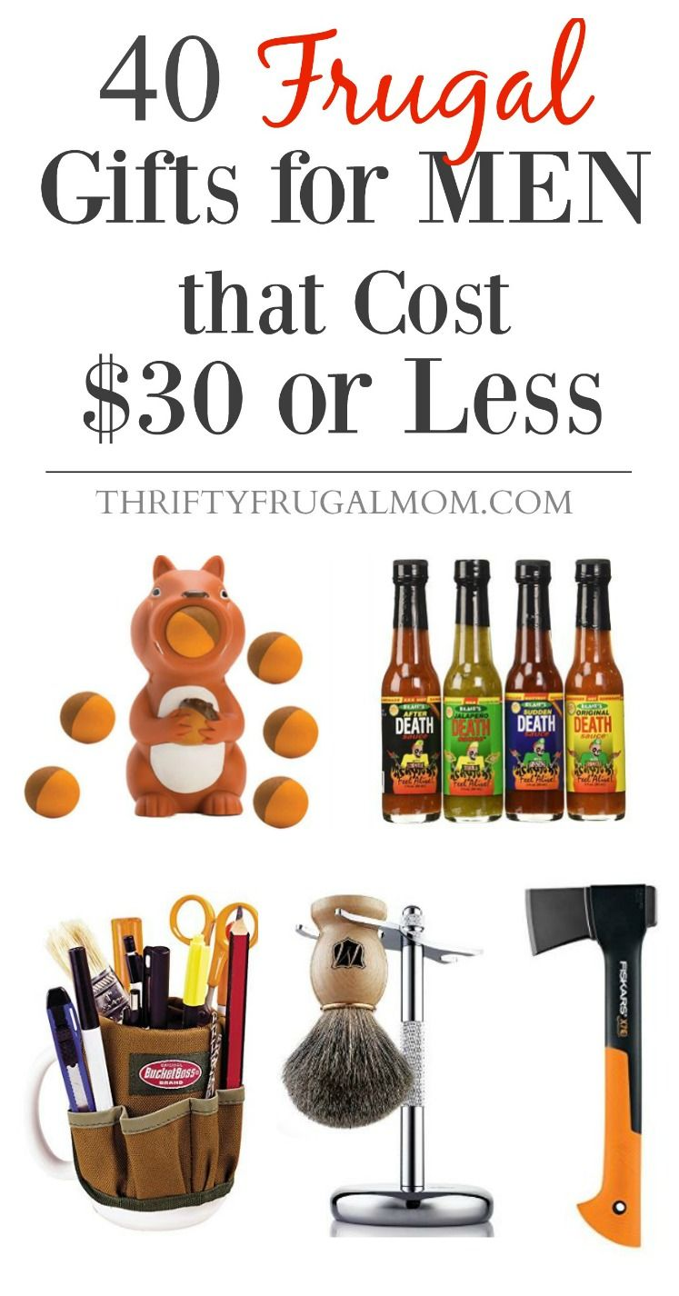 40 Frugal Gifts For Men That Cost 30 Or Less Birthday Gift For