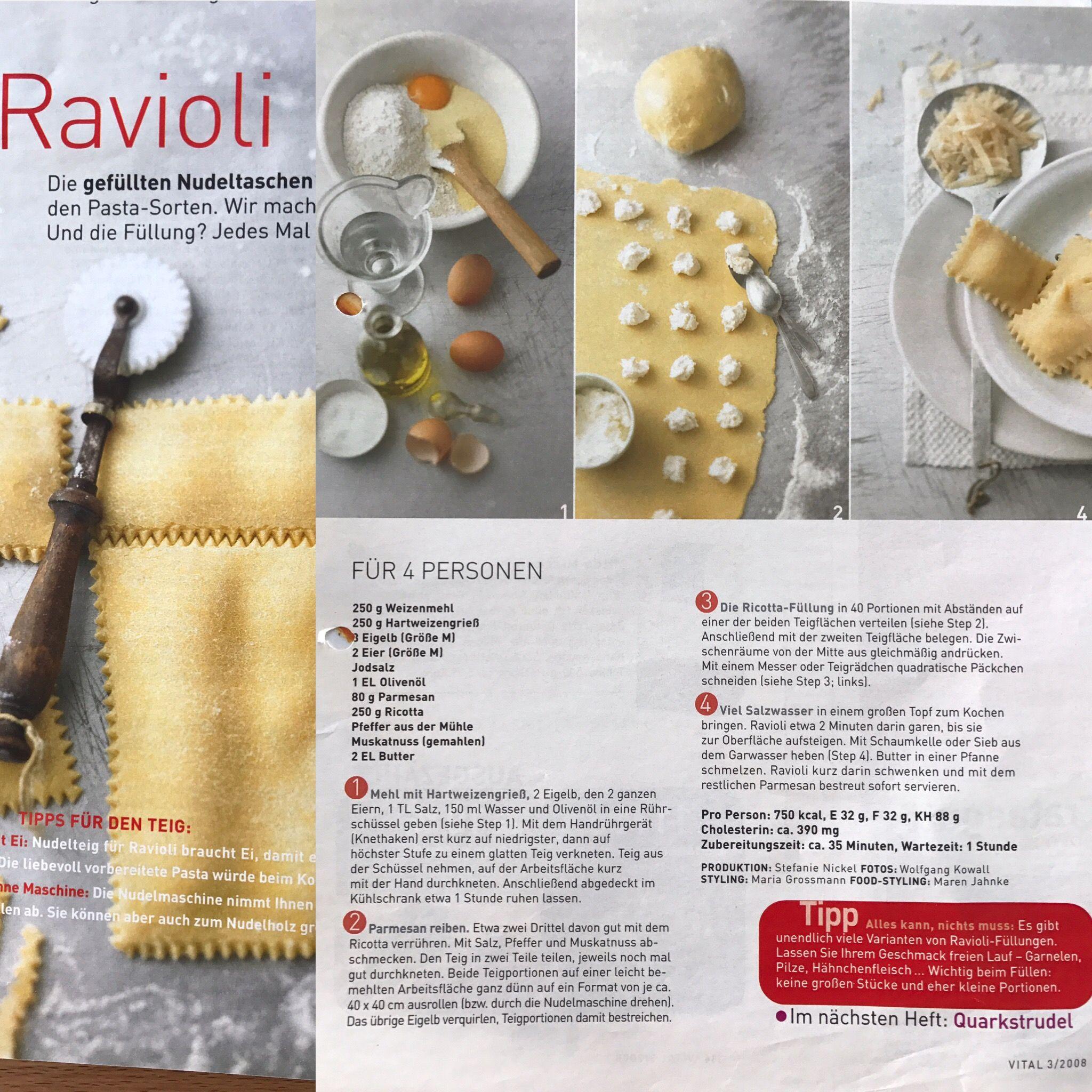 Pin Von Julies World Auf Cooking Nudel Garnelen Portionen Ricotta