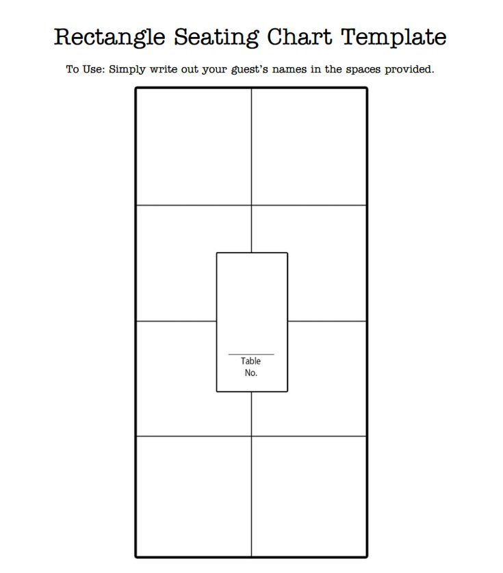 5 Free Wedding Templates To Help You Seat Your Guests Seating