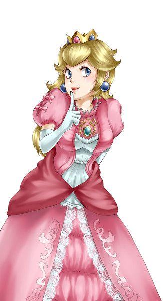 Super Smash Bros. Peach <3