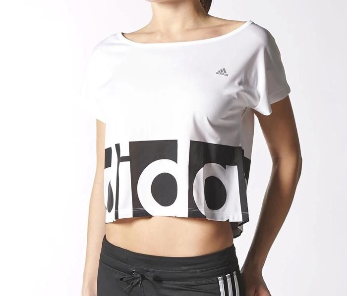 2015 May adidas Dance Tee Womens Athletic Tee Top T Shirt S20780