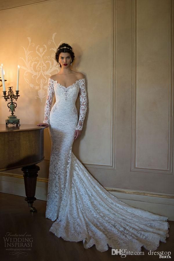 Item Type Wedding Dresses Back Design Zipper Sleeve Style Off The Shoulder Train Court Built In Bra Yes Silhouette Mermaid Trumpet Decoration