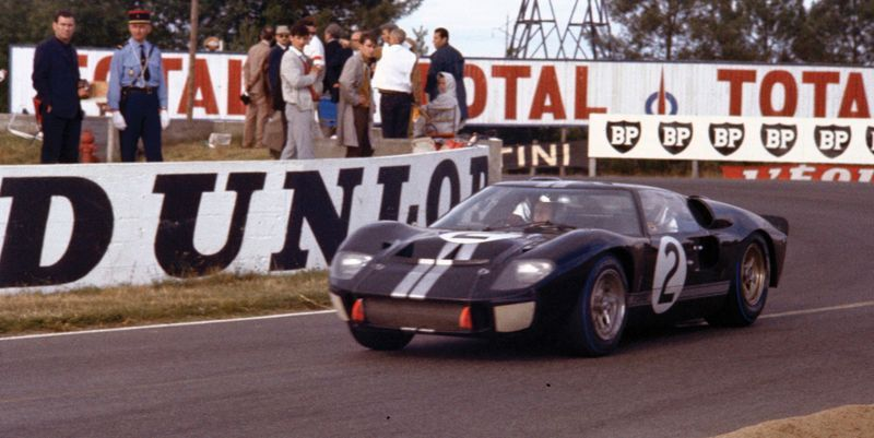 How Ford Built A Nascar Powered Car To Beat Ferrari At Le Mans