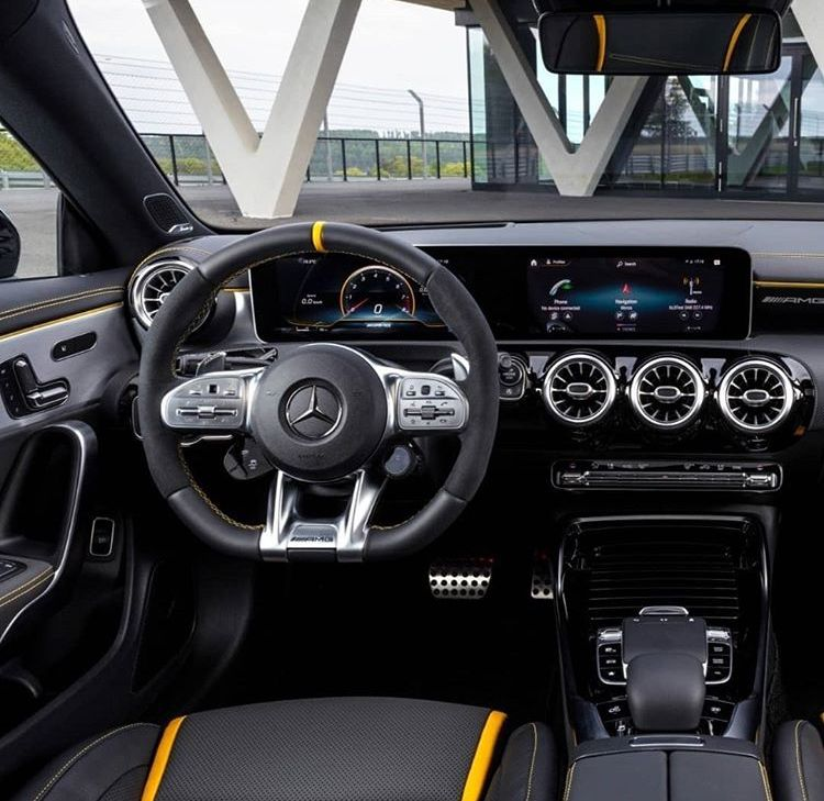 2020 Mercedes Benz A35 Amg Sedan Uk In 2020 With Images: Pin De Joshua Em Luxury