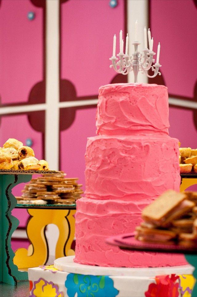 Mini Candelabra Cake Topper