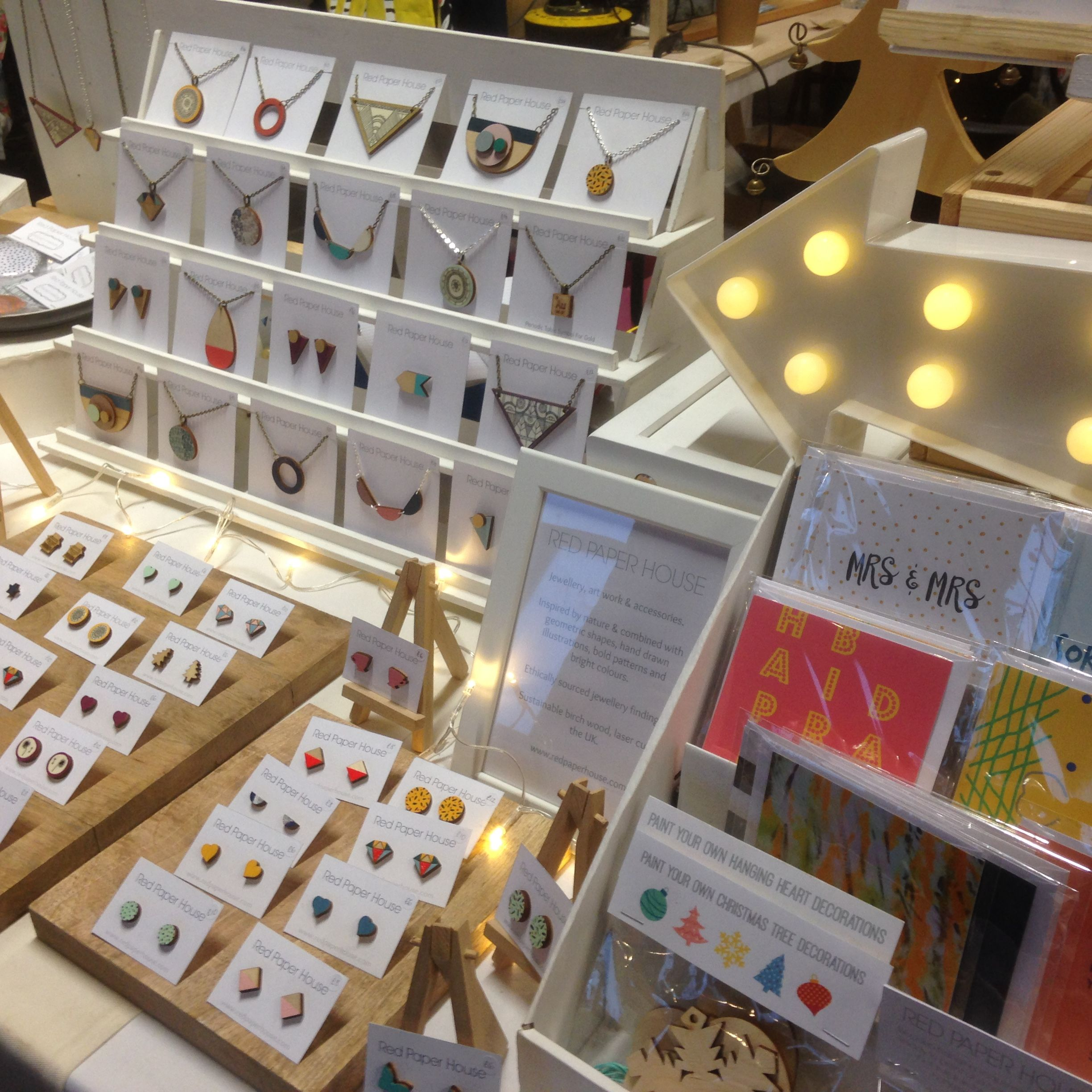 Pin by red paper house on red paper house craft fair displays red paper house at the hepworth christmas market wakefield november 2016 jeuxipadfo Image collections