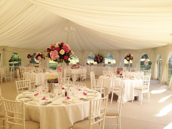Marquee At Silchester House Wedding