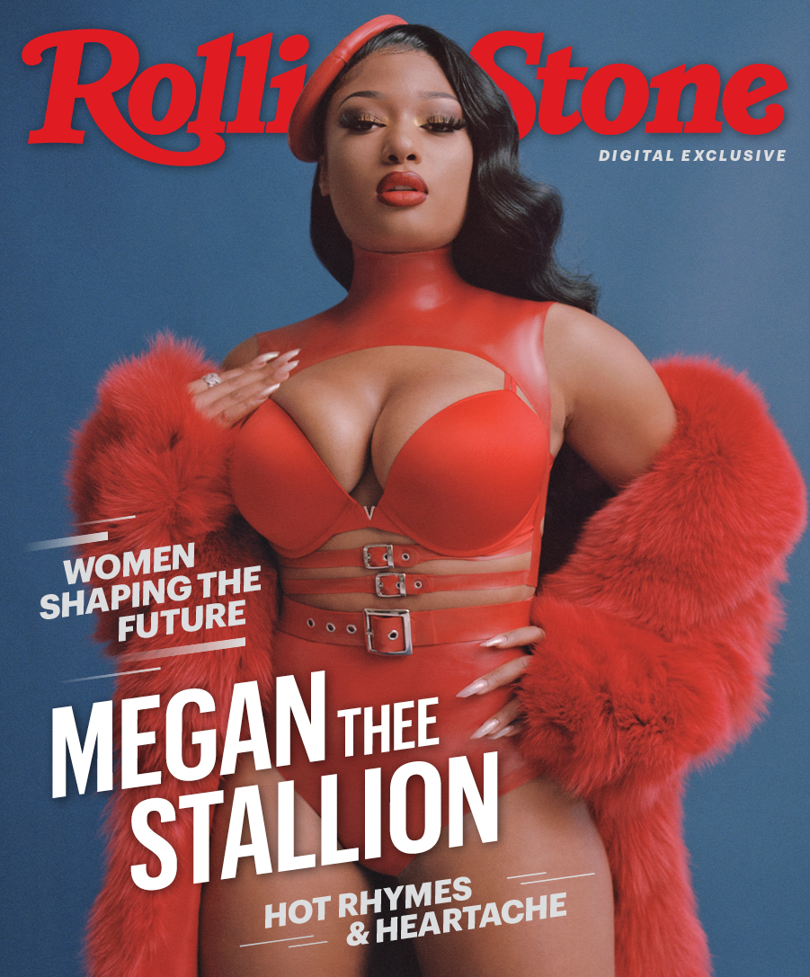 Megan Thee Stallion Rolling Stone March 2020 In 2020 Stallion Rolling Stones Megan