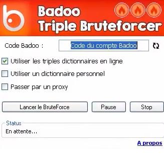 badoo triple bruteforcer gratuit