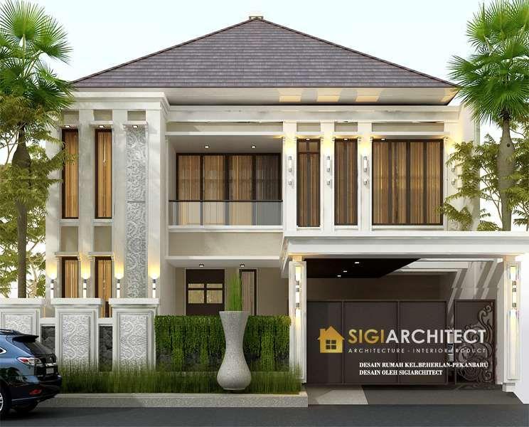 Model Rumah Tingkat 2 Lantai Bali Modern Di 2021 Desain Rumah 2 Lantai Home Fashion Desain Rumah
