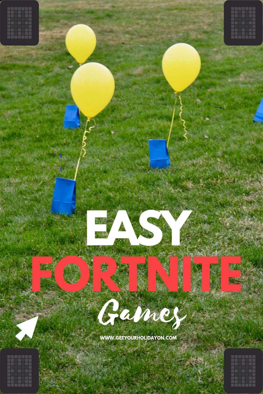 Discover How To Play Fortnite Party Games For Boys Or Girls Easy Go To Party Ideas That W Jeux De Fete D Anniversaire Jeux De Fete Fetes D Anniversaire Garcon