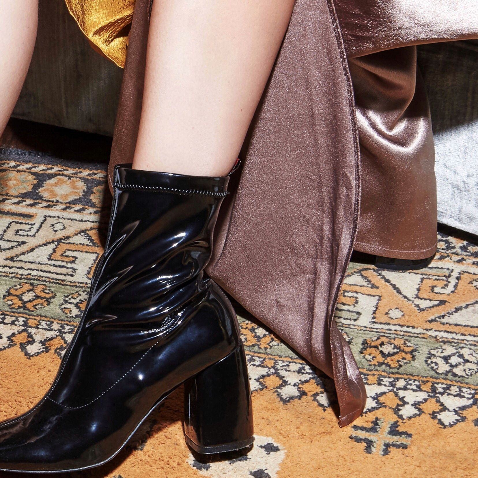 49ac19dd02 Meet #BellaMia stretch boot in patent leather, our very popular BellaDonna  boot's little sister. #daniellashevel