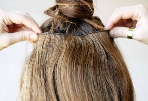 Image result for I Tried It: Tape Hair Extensions