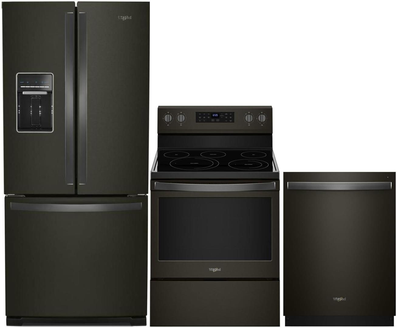Whirlpool 995552 2 099 00 Kitchen Appliance Packages Stainless Steel Kitchen Appliances Black Stainless Steel Kitchen