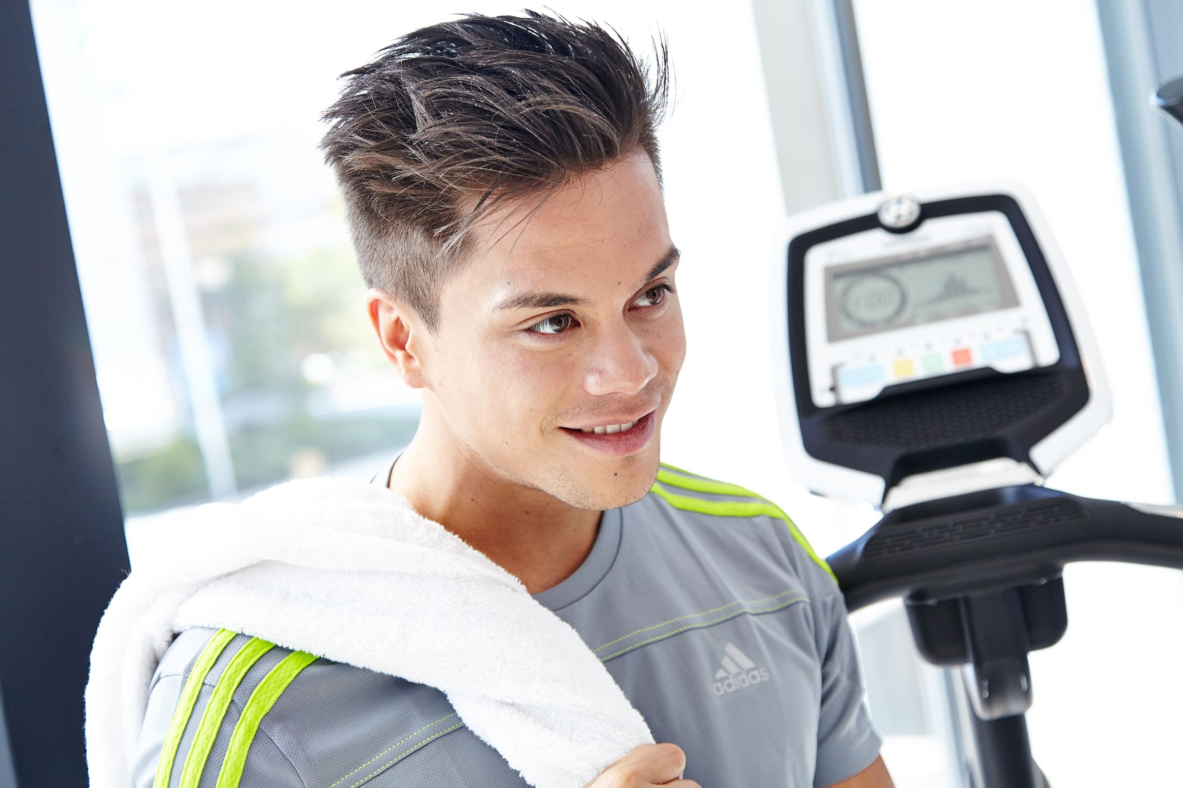 Dsds Christopher Schnell Ist Model Fur Fitnessgerate Starsontv Dsds Models Fitness