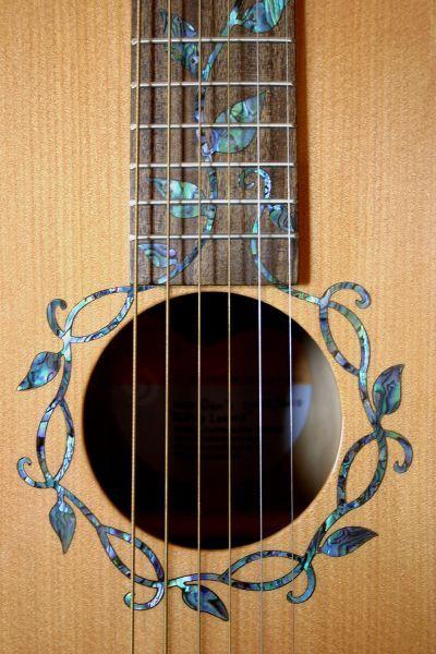 Guitars New Zealand Guitar Maker Nz Guitars Nz Acoustic Guitar Nz Made Guitar Nz Luthier Handmade Rosetas Violao