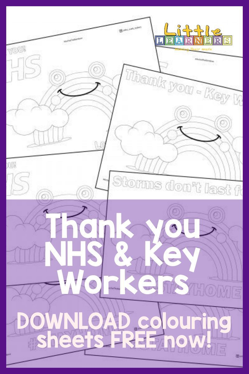 Thank You Nhs Key Workers Archie Colouring Sheet Kids Printable Coloring Pages Coloring Sheets Pre Writing Activities